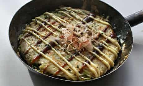 Okonomiyaki pancakes