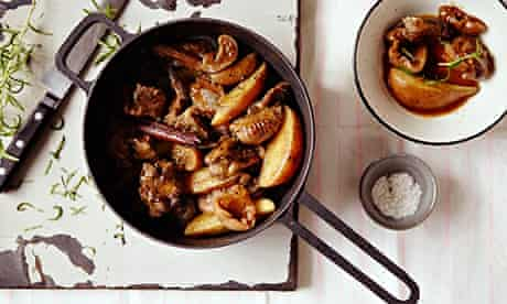 Lamb tagine with figs and rosemary