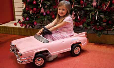 A level playing field … the Hollywood pedal car – one of Hamleys most-wanted toys for Christmas 2013