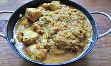 Madhur Jaffrey's chicken tikka masala