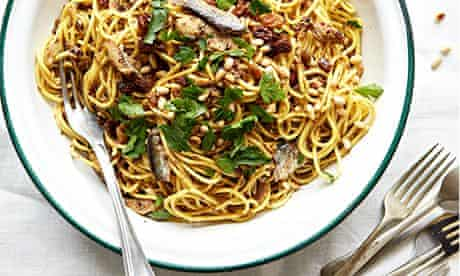 b2b tinned sicilian sardine pasta