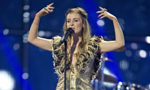 Molly, the UK's Eurovision entrant