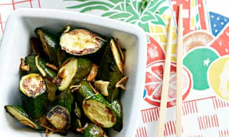 10 best Sweet and sour courgettes with sesame noodles