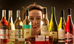 Zoe Williams with low-calorie and low-alcohol wine