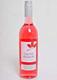 Grove Manor wine