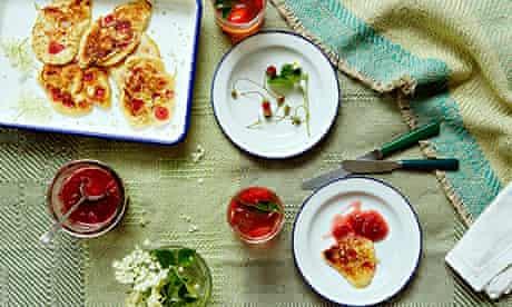 10 best Elderflower and strawberry drop scones