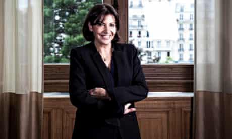Anne Hidalgo, the first female mayor of Paris