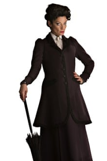 New addition Michelle Gomez as the Gatekeeper of the Nethersphere.