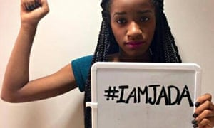 A social media campaign in support of Jada