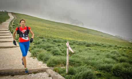 Ultra runner Rory Bosio in action