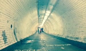 The Greenwich tunnel - part of Jonny Muir's route through London