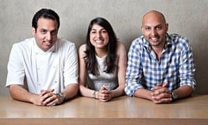 Karam, Sunaina and Jyotin Sethi