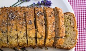 GT lemon lavender cake