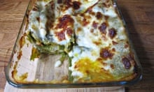 Martha Stewart's vegetable lasagne