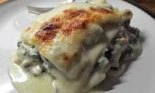 Delia Smith's vegetable lasagne