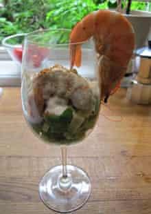 Delia Smith's prawn cocktail