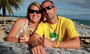 Lon Lomas and his wife Alicia