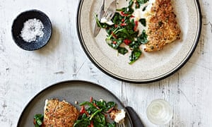 10 best sesame coconut fish with chilli spinach