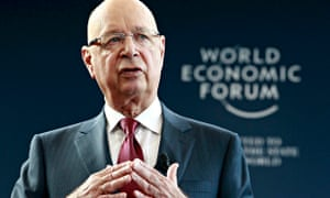 Klaus Schwab, the founder of the World Economic Forum