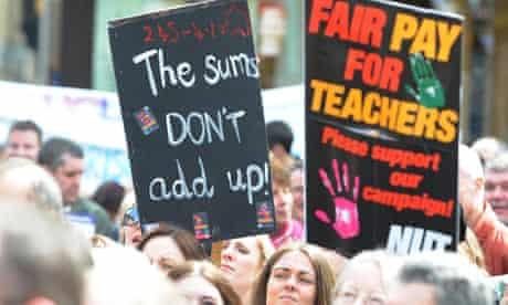 Teachers strike