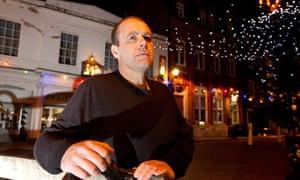 Phil Morley outside NatWest