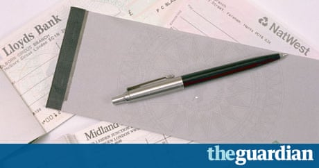 Cheque guarantee cards to be abolished money the guardian ccuart Images