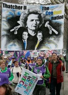 cuts london march