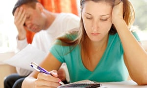 Couple worried about finances