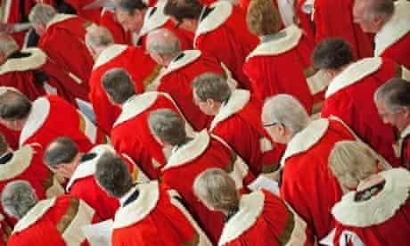 Peers in red