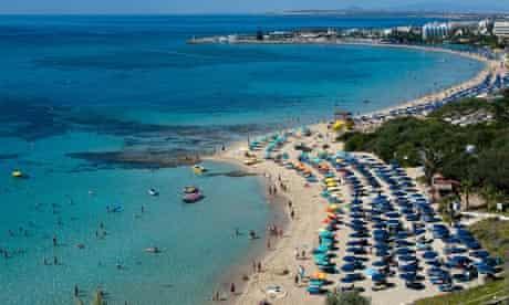 Agia Napa Beach, Ayia Napa, Cyprus.