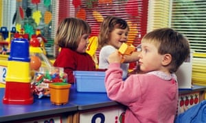 Children in Nursery Class