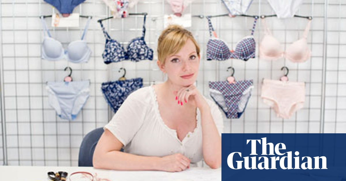 A Working Life The Lingerie Designer Work Careers The Guardian