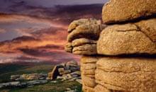 Rock Formations, Dartmoor, Devon, UK