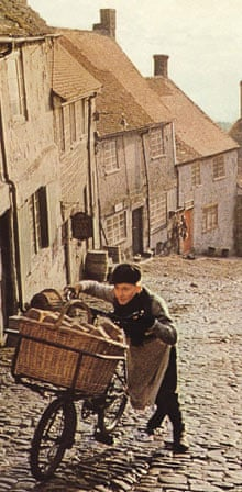 Hovis ad of boy and bike