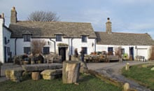 The Square and Compasspub in Worth Matravers on the Isle of Purbeck, Dorset, England, UK