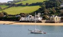 Salcombe Harbour south Devon