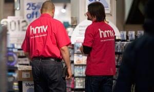 HMV staff