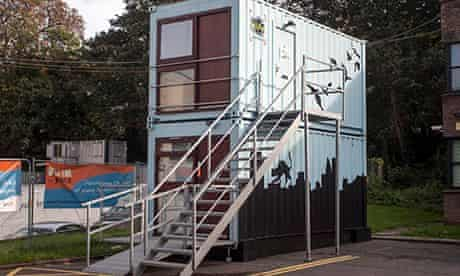 shipping container in Waltham Forest