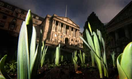 Bank of England and dafffodils