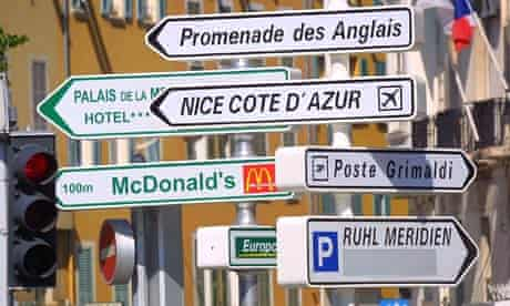 NICE, FRANCE - JUL 2004
