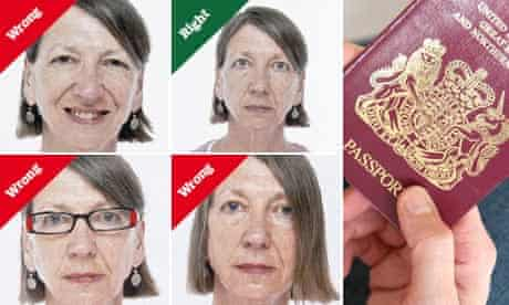composite of wrong and right passport photographs