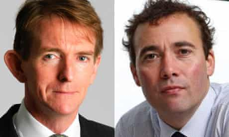 Tony Gallagher and Will Lewis