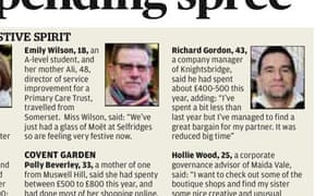 72156a16e115 London Evening Standard voxpop mistake - Emily Wilson
