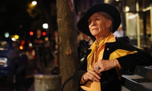 John Hurt as Quentin Crisp in An Englishman in New York (ITV1)