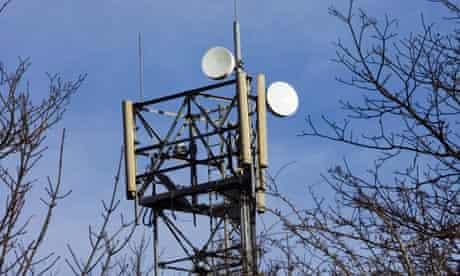 Mobile Phone Mast, UK