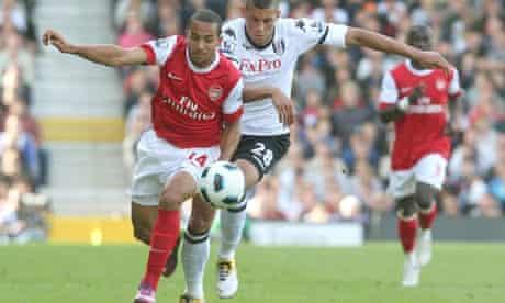 Fulham v Arsenal - Craven Cottage