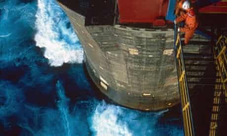 Statoil Norwegian Natural Gas Platform