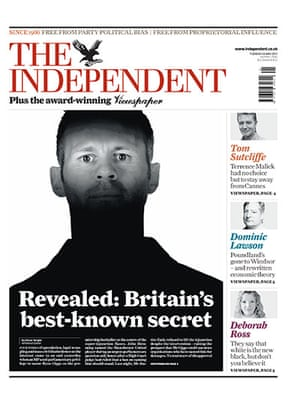 frontpagesgiggs: Independent Ryan Giggs