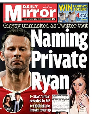 frontpagesgiggs: Daily Mirror