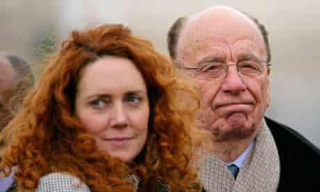 Rebekah Brooks Rupert Murdoch